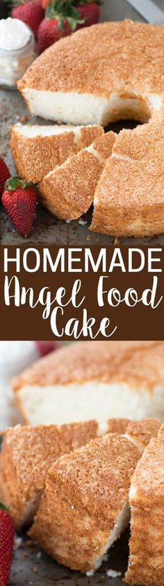 The best angel food cake more here httpartonsunspot 100 homemade angel food cake this is the recipe that everyone will ask you forumfinder Choice Image