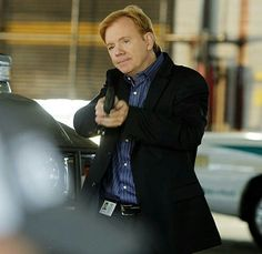 David Caruso as Lt Horatio Caine in CSI Maiami