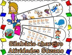 Silabário chaveiro | Atividades Pedagogica Suzano
