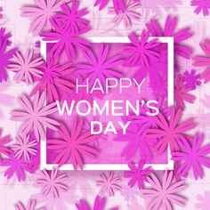 Блог Колибри: Womens Day 8 March holiday background with paper flower vector