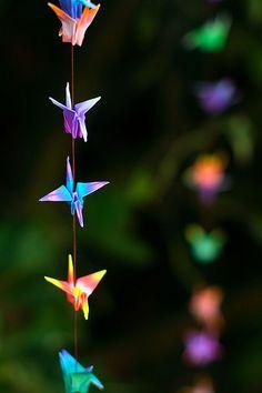 Crane garland
