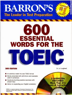 [pdf + CD] Download 600 essential words for the TOEIC Test - 3rd Edition