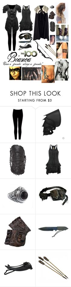 """The 100 Oc~Bianca daughter of Anya"" by xzaratsux ❤ liked on Polyvore featuring Warehouse, Colin Hare, Bolongaro Trevor and Apples"