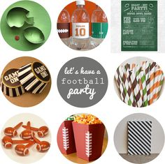Oleander and Palm: Let's Have a Football Party
