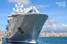 Ulysses, currently anchored off #Palma, the recently completed 107 metre explorer #yacht #MYUlysses is enjoying her first guest trip around the #BalearicIsland of #Mallorca. Should you find yourself cruising around the Med, don't forget to download the #bunkerbuoy #worldwidebunkeringapp for #bunkeringmadeeasy... https://itunes.apple.com/es/app/id595323440