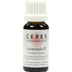 CERES Lavandula - Lavendel Urtinktur:   Packungsinhalt: 20 ml Tropfen PZN: 00179097 Hersteller: CERES Heilmittel GmbH Preis: 15,52 EUR…