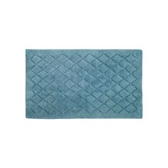 Avanti Splendor Plush Bath Rug, Blue