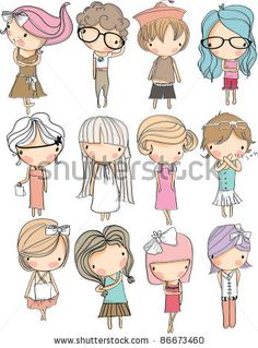 Find boy and girl cartoon faces stock images in HD and millions of other royalty-free stock photos, illustrations and vectors in the Shutterstock collection. Thousands of new, high-quality pictures added every day. Cartoon Cartoon, Cartoon Faces, Cartoon Drawings, Doodle Drawings, Cute Drawings, Doodles Bonitos, Doodle People, Doodle Girl, Cute Doodles