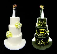 Batman Wedding Cake Topper  Hochzeitstorte Topper, Kuchenfiguren ...