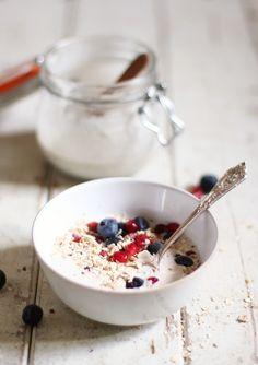 Vanilla Coconut Yoghurt - The Little Green Spoon