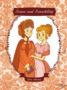 Sense and Sensibility by Jane Austen (Illustrated by ChihAriel)