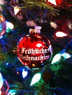 Merry CHRISTmas from Fredericksburg, TX