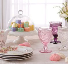 Easter Brunch Essentials  Step away from the plastic eggs and jellybeans. Instead, choose French linens, gem-toned goblets, and whimsically patterned plates for your table this Easter. And plenty of elevated essentials, from trays and tea kettles to salad servers, will ensure your guests are well taken care of.