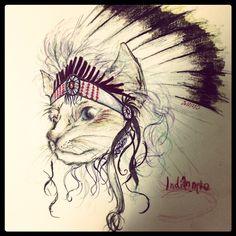 indian cat