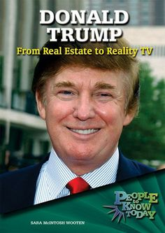 Before Donald Trump entered the world of television with his hit reality show, THE APPRENTICE, he made a name for himself as a hard-driving real estate developer in New York City. From there he expanded his property interests to include casinos in Atlantic City and top-notch golf courses around the country. He has published a number of books about his life and insights on business, many of which have become best-sellers.