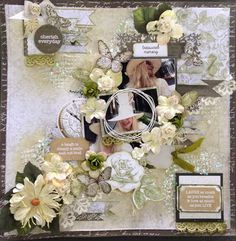 kaisercraft scrapbooking layouts using provincial papers Scrapbooking Layouts, Scrapbook Pages, General Crafts, Vintage Shabby Chic, Project Ideas, Projects, Craft Ideas, Scrapbooks, Decoupage