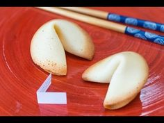 Homemade Fortune Cookies Recipe for Chinese New Year!