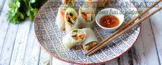 Qooking.ch   Rouleaux frais de printemps Asian Cuisine, Wraps, Strawberry Fruit, Healthy, Other, Spring, Recipe