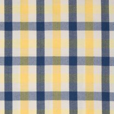 The G5781 Yellow upholstery fabric by KOVI Fabrics features Plaid, Herringbone pattern and Blue, Yellow as its colors. It is a Woven, Cotton type of upholstery fabric and it is made of 54% Cotton, 46% Polyester material. It is rated Exceeds 50,000 double rubs (heavy duty) which makes this upholstery fabric ideal for residential, commercial and hospitality upholstery projects.This upholstery fabric is 54 inches wide and is sold by the yard in 0.25 yard increments or by the roll. Call…
