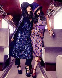 Vogue China Collections, Fall/Winter 2012, stockton johnson, Tian Yi, Bonnie Chen, Miao Bin Si, Danni Li, Ma Jing, candy lee