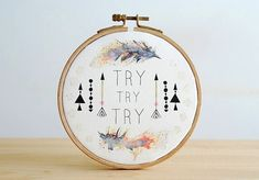 Try Try Try on Etsy by Ines Rocio