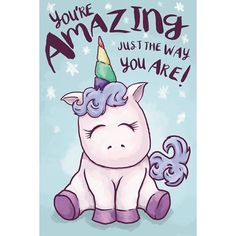 Free Shipping. Buy Unicorn Amazing Poster (24x36) at Walmart.com