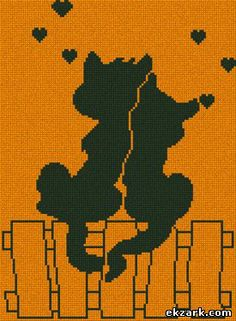 Download free cross-stitch design