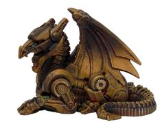 Steam punk dragon! This would go great with my collection.