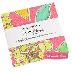 Spring House Charm Pack Stephanie Ryan for Moda Fabrics - Fat Quarter Shop