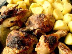 Lemon and mustard chicken - Pollo con mostaza y limón  http://lacocinadeile-nuestrasrecetas.blogspot.com.es/2013/01/pollo-al-limon-y-mostaza.html