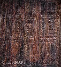 campione lavorazione in resina artigianale