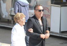Bruce and Mama Adele