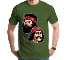 Camiseta Camisa Cheech & Chong