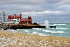 Point Betsie Lighthouse Crystalia, Michigan