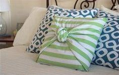 Ideas para decoración. Decoración de cojines sin costuras   Ideas para Decoracion
