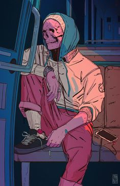 Find images and videos about art, illustration and skull on We Heart It - the app to get lost in what you love. Arte Horror, Arte Pop, Dope Art, Psychedelic Art, Skull Art, Aesthetic Art, Vanitas, Art Inspo, Art Reference