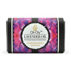 Natural Hydrating Face & Body Soap with Kashmir Lavender Oil 50 g | Oli-Oly #OliOly