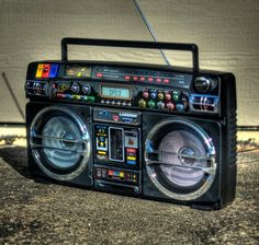 "Check out ""Retro Blaster Boombox for Apple iPod"" I need this! If they make it for a 5!"