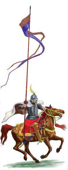 Husarz, lata 1570 - 1580