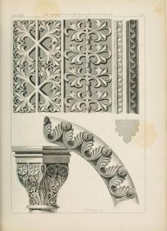 Les Ornements Du Moyen Age Die Ornamentik Des
