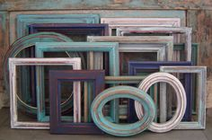 Wooden Picture Frame Gallery Wall Seaside Shore Collection $149