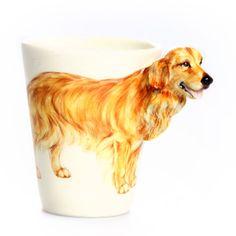 Golden Retriever Mug, $29, now featured on Fab.