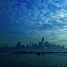 "@webstash's photo: ""New York seen from #ferry #skyline ##barcode #water #river #sky #skyporn #visitnewyork #visitny #visitnyc #travel #memories #usa ##blue #bluesaturday #popyacolour #icatch #icatch_blue"""