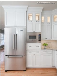Great place to keep the microwave, but electrical lines are so screwy all over the apartment. Bottom cabinets are just what I'd like in current open space but I'm not sure there are outlets there- must be some sort of electricity because that's where the washer and dishwasher are. #LGLimitlessDesign & #Contest