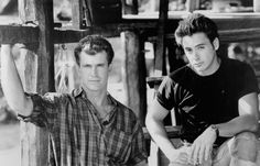 Mel Gibson & Robert Downey Jr. in Air America. Oh my goodness I think I have to see this trailer yes it's old but it has too of my favorite actors in it:)
