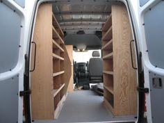 Wood shelving/storage - Sprinter-Forum