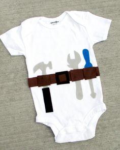 Funny Baby Boy Onesie  Tool Man by BellaBlitz on Etsy, $18.99