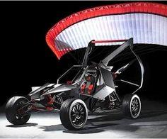 The SkyRunner flying all-terrain buggy