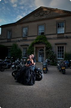 Biker Wedding photo idea  LOVE this photo!!  Emerson Photography