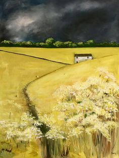 Storm Skies (after Barry Hilton) Bunting, Past, Country Roads, Sky, Heaven, Garlands, Past Tense, Heavens, Buntings